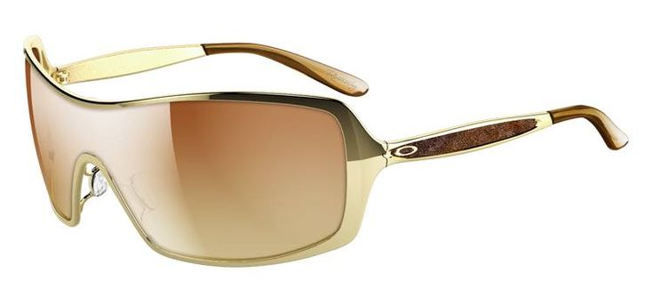 Oakley Remedy Polished Gold/VR50 Brown Gradient -- Or if I let myself get really carried away and can actually spend $200 on sunglasses, these are absolutely fabulous. :)