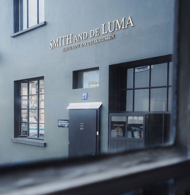 Smith and de Luma Steakhouse Zürich