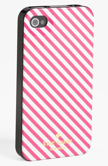 kate spade new york 'harrison stripe' iPhone 5 case (Nordstrom Exclusive) available at #Nordstrom