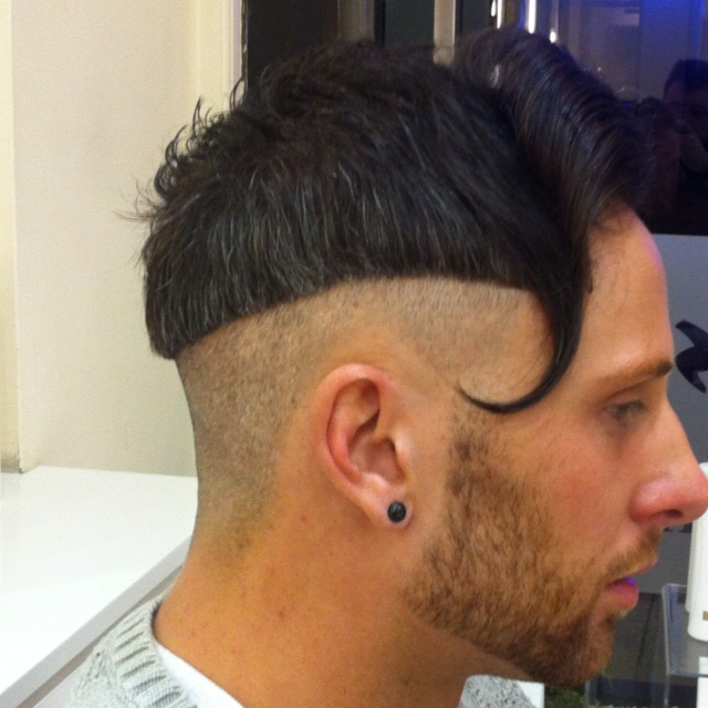 One of my own hair cuts I did in feb 2012