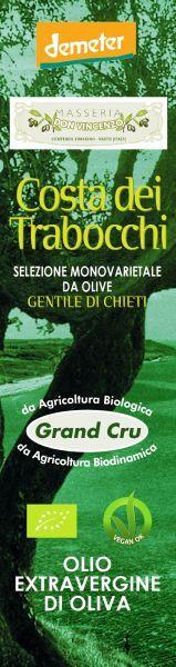 Grand Cru Costa dei Trabocchi, einzige Sorte von Gentile di Chieti