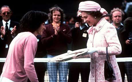 Virginia Wade: 'My Wimbledon win was £13k, today it's £1.76m' - Telegraph