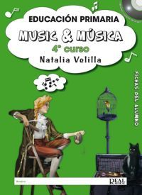 Natalia Velilla: Music &  Música, Volumen 4 (Alumno) MK18818 http://www.carisch.com/esp/producto.asp?sku=MK18818