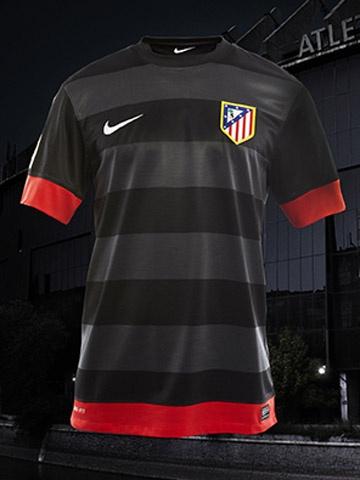 Indumentaria Atlético de Madrid 2012-13