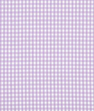 """1/8"""" Lilac Gingham Fabric - $3.75 