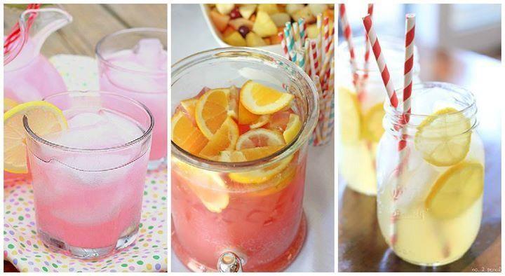 10 erfrischende Ideen für Limonade