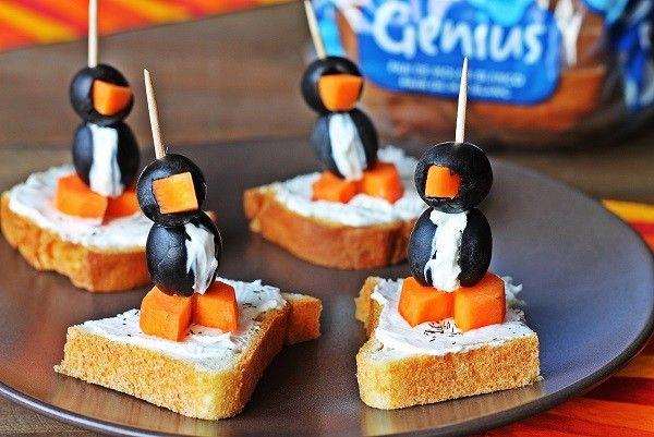 Una #Tapa #SinGluten muy #Genius ;)   Hecha por nuestra amiga Josefa María Moll Pons.  #Pingüinos #HappyFeet