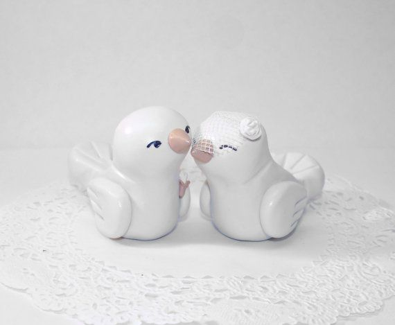 Hey, I found this really awesome Etsy listing at https://www.etsy.com/listing/121045108/custom-lovebirds-wedding-cake-topper