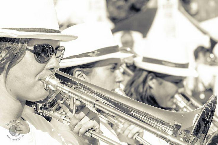 Fotografia uliczna - Orkiestra dęta