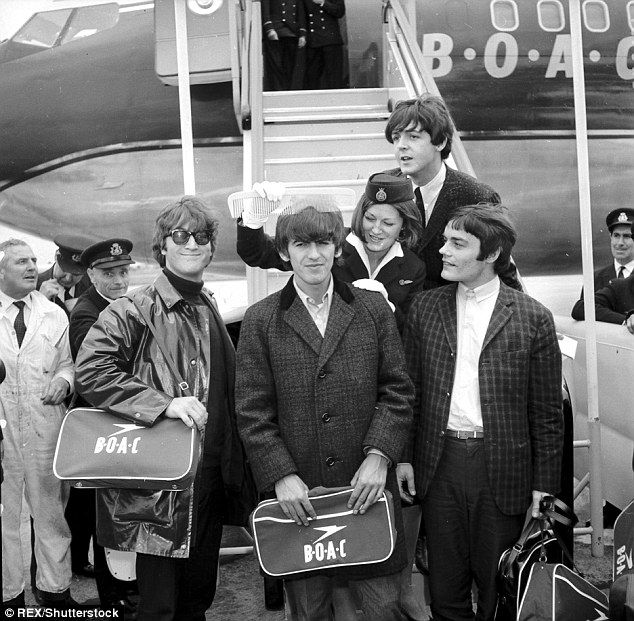 Sixties | Jimmy Nichol (right), who stood in for Ringo Starr on the Beatles' first world tour, 1964