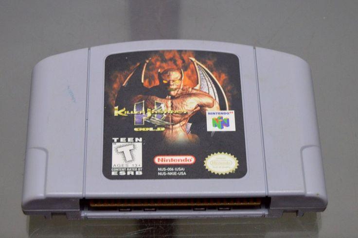 Killer Instinct Gold (Nintendo 64, 1996) Game