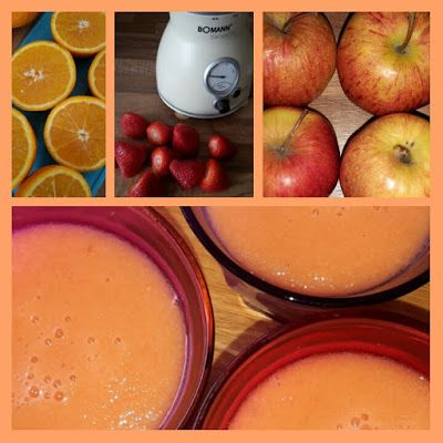 Lekker en leuk!: Appel-aardbeiensap