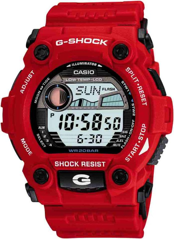 Casio G Shock G Rescue G7900 Cold Resistant Watches    casio