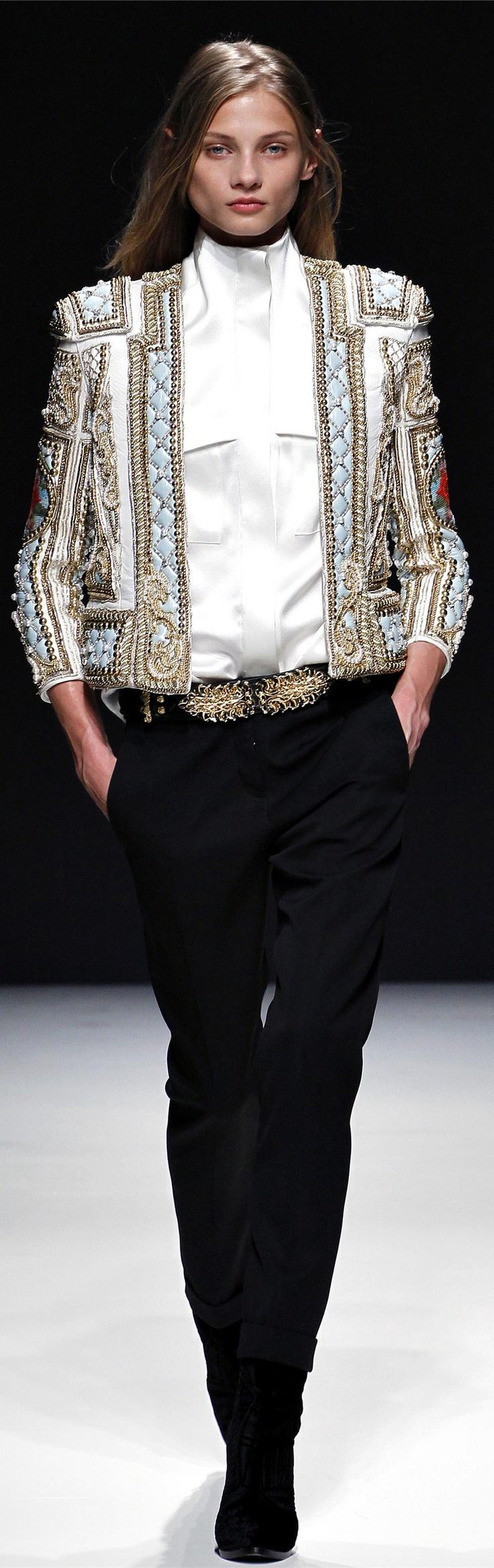 ✪ Balmain Collection Fall Winter 2012-2013 ✪ http://www.vogue.co.uk/fashion/autumn-winter-2012/ready-to-wear/balmain#