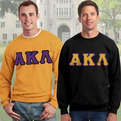 Alpha Kappa Lambda Crewneck Sweatshirt Package - Gildan 12000