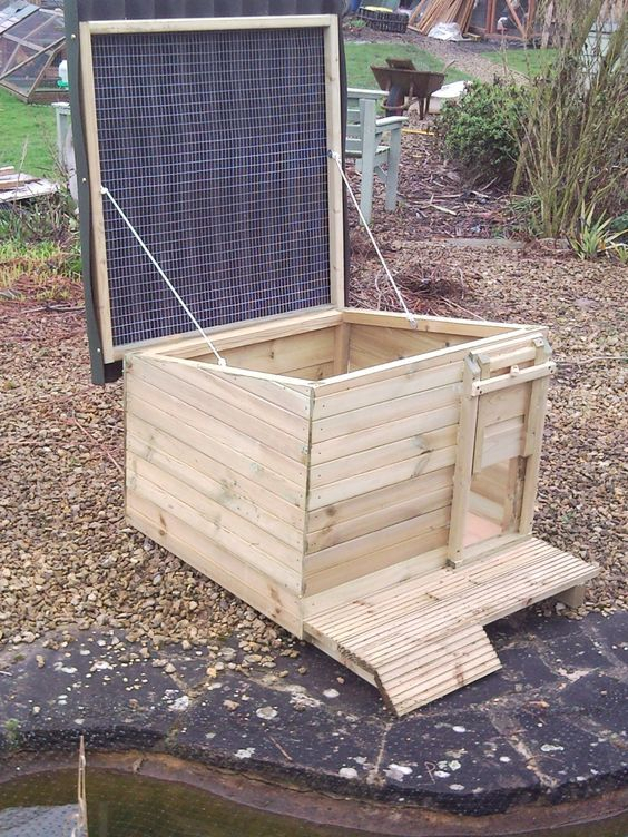 Duck Coop Ideas | This is a duck house but could be altered to a chicken coop