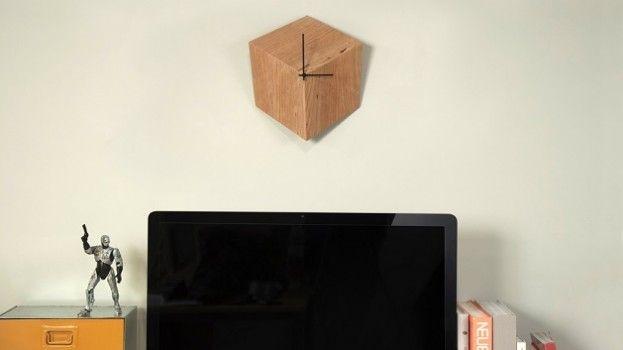 3P Clock: (g)een kubus aan je muur!