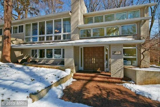 mid century modern homes for sale in northern virginia