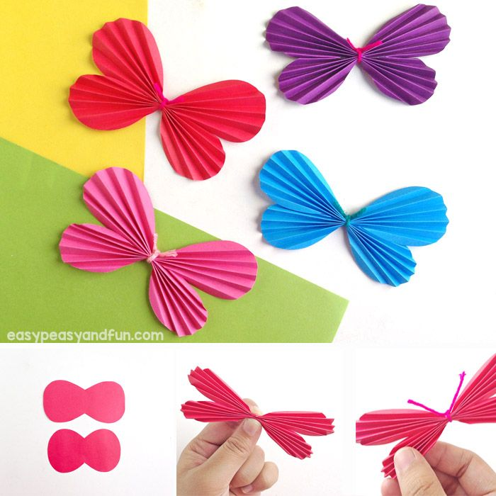 How To Make A Paper Butterfly Template Included Paper