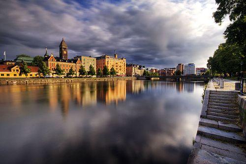 Clouds Over Norrköping   Flickr - Photo Sharing!