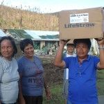 Donations from Rotary Club providing safe water with LifeStraw for displaced communities.
