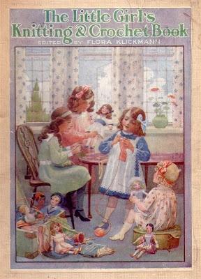 Knittingbee: Vintage Little Girl's Knitting Book