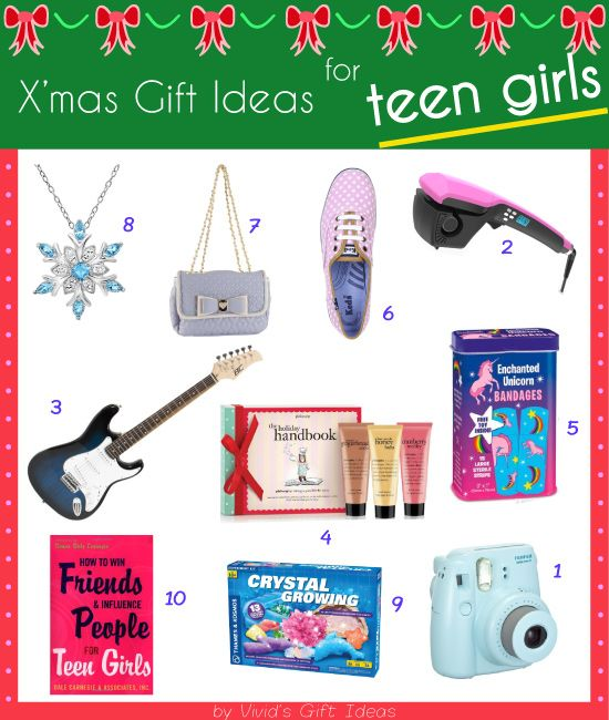 Cute and cool gifts for teen girls #Christmas #2014