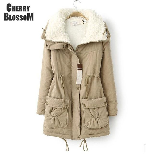 New Autumn Winter Jacket Coat Women Parka Woman Clothes Solid Long Jacket Slim Plus Size Women's Winter Jackets And Coats 2016  US $26.59 /piece      CLICK LINK TO BUY THE PRODUCT   http://goo.gl/4du0DP