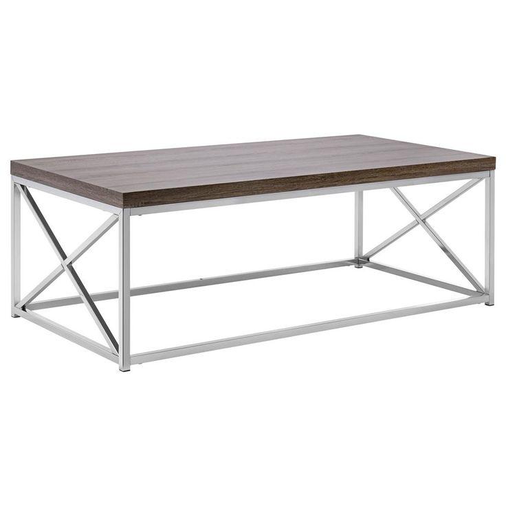 Bouclair Teak Coffee Table: Coffee Table/SIDE TABLES/FURNITURE