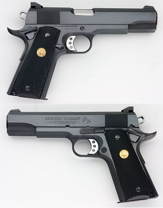 Colt 1911 Special Combat Government Model .45 ACP Save those thumbs & bucks w/ free shipping on this magloader I purchased mine http://www.amazon.com/shops/raeind No more leaving the last round out because it is too hard to get in. And you will load them faster and easier, to maximize your shooting enjoyment. loader does it all easily, painlessly, and perfectly reliably