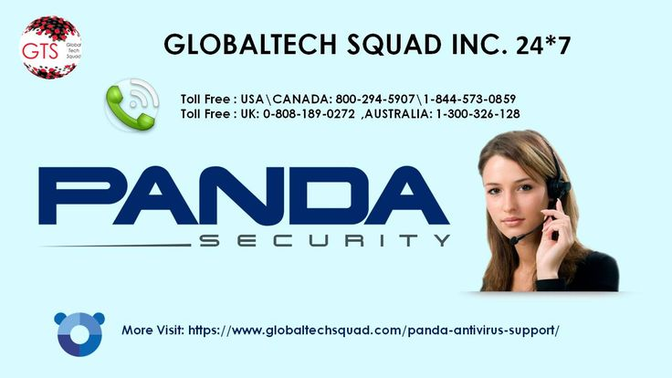 At GlobalTech Squad we provide 24 hours online support for Panda antivirus. Our technicians have the expertise in the product and they can install Panda antivirus in your computer online. They will also help you in configuring the correct settings so that you get better security from viruses and malwares.
