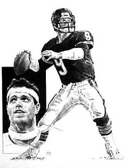 Jim McMahon Chicago Bears Lithograph by HOFGROUP on Etsy