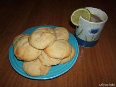 » Biscotti al cioccolato bianco Ricette di Misya - Ricetta Biscotti al cioccolato bianco di Misya