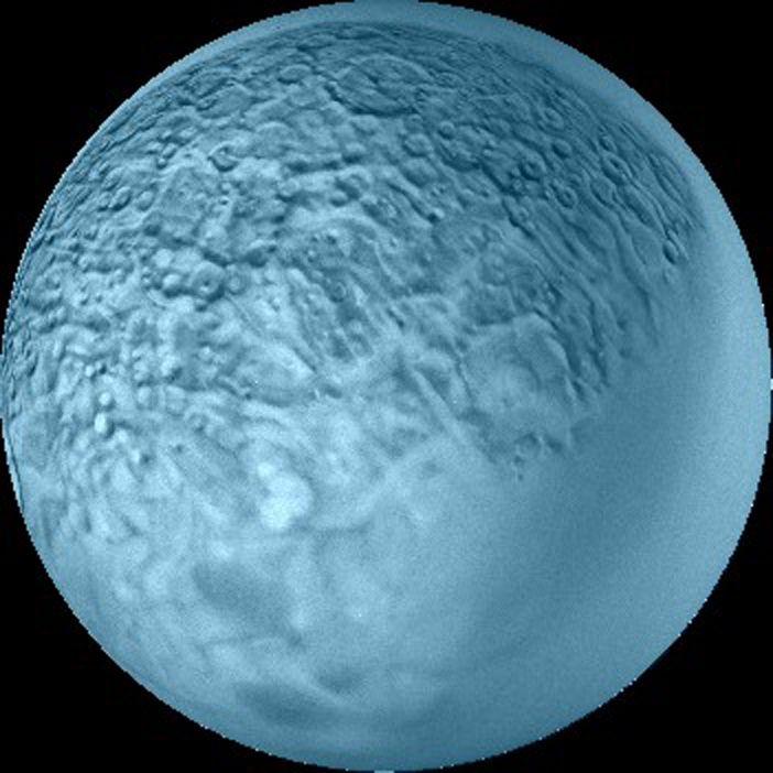 Umbriel, another shot of the moon of Uranus