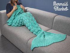 Originelle Geschenke  - Decke Meerjungfrau,