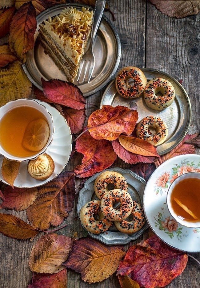 217 Best Autumn Fall Tea Images On Pinterest