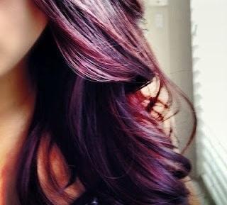 burgundy, & purple hair i purchased my hair dyes at sally's. ion sensitive scalp developer 20 volume. & rage color purple plum ion color brilliance liquid medium intense red 41r-44.66.