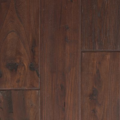 "Mohawk Zanzibar 5"" Engineered Elm Walnut Hardwood Flooring in Antique Walnut & Reviews 