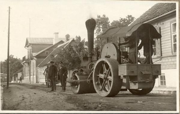 Maanteemuuseum - Teetööd, 1920.-30.