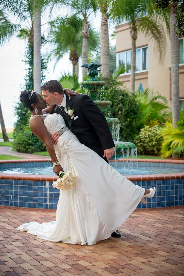 Safety Harbor Spa, one of Clearwaters most popular wedding venues, and for good reason. http://celebrationsoftampabay.com/photographers-clearwater/