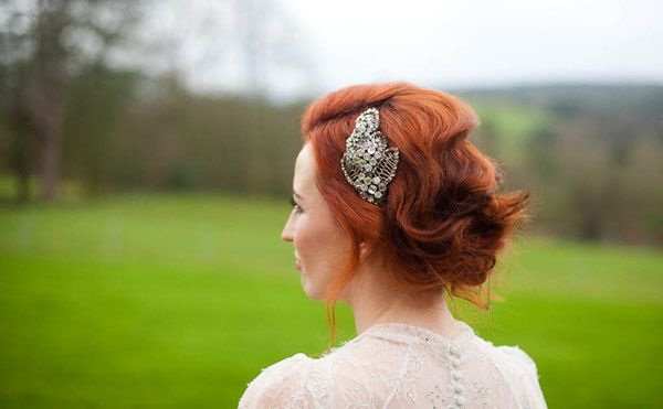 Stunning Irish Bride with gorgeous red hair! Captured by Sean Curtin: Red Hair, Weddings, Bridal Hairstyles, Wedding Hairstyles, Bride, Wedding Hair Styles, Hair Color