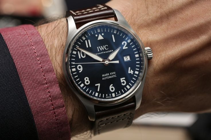 IWC Pilot's Watch Mark XVIII and Edition 'Le Petit Prince' Hands-On