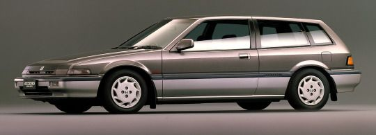 CarsthatnevermaHonda Accord Aerodeck 2.0 Si, 1987. The 'shooting brake' Accord only lasted one generation, the next Accord Aerodeck was a conventional 5-door wagondeit