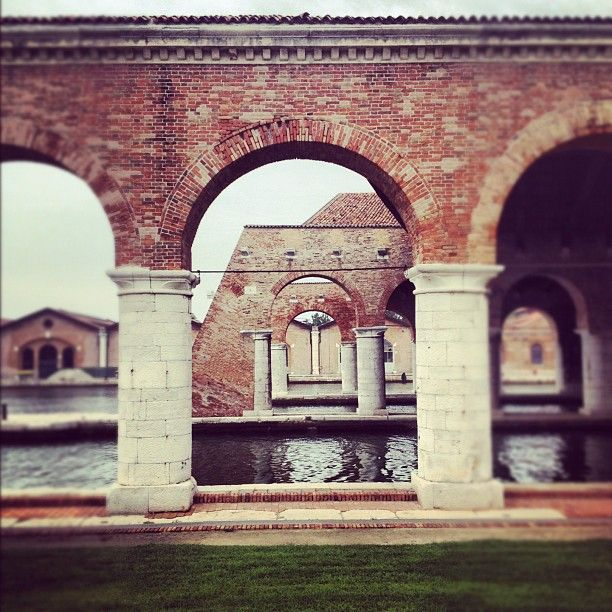 ArchDaily at the Venice Biennale 2012: The Arsenale, venue of the Biennale