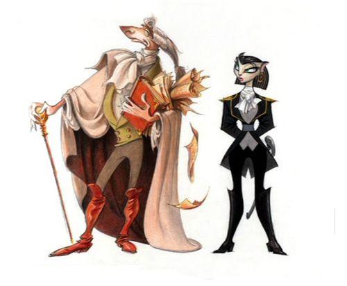 Character Designs from Treasure Planet | Treasure Planet ...
