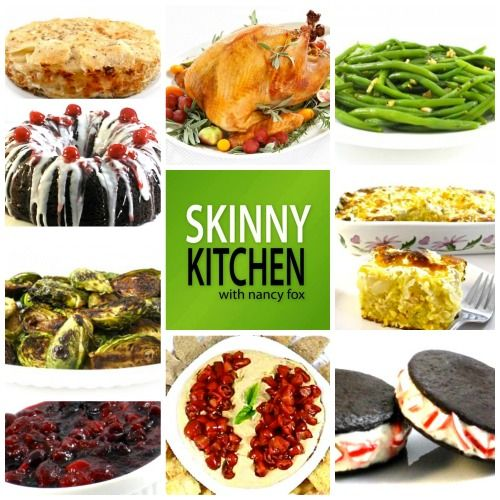 I'm sharing dozens of easy, delicious recipes for the holidays. These include appetizers, main course recipes, potato and other side dishes, vegetables and many delectable, skinny desserts. I deci…
