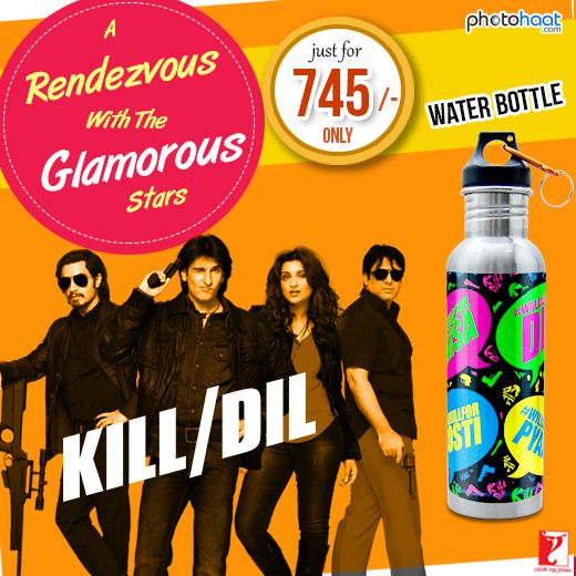 Make  Your  Picnics & Outings  More  Fun & Delightful  with  These  Stylish,  #Stainless Steel   #WaterBottles  #Gorgeously  Designed  with  the  Powerpacked  #Taglines  of  #KillDil @ Rs. 745 Only!  Limited  Period  #OFFER…  #Photohaat