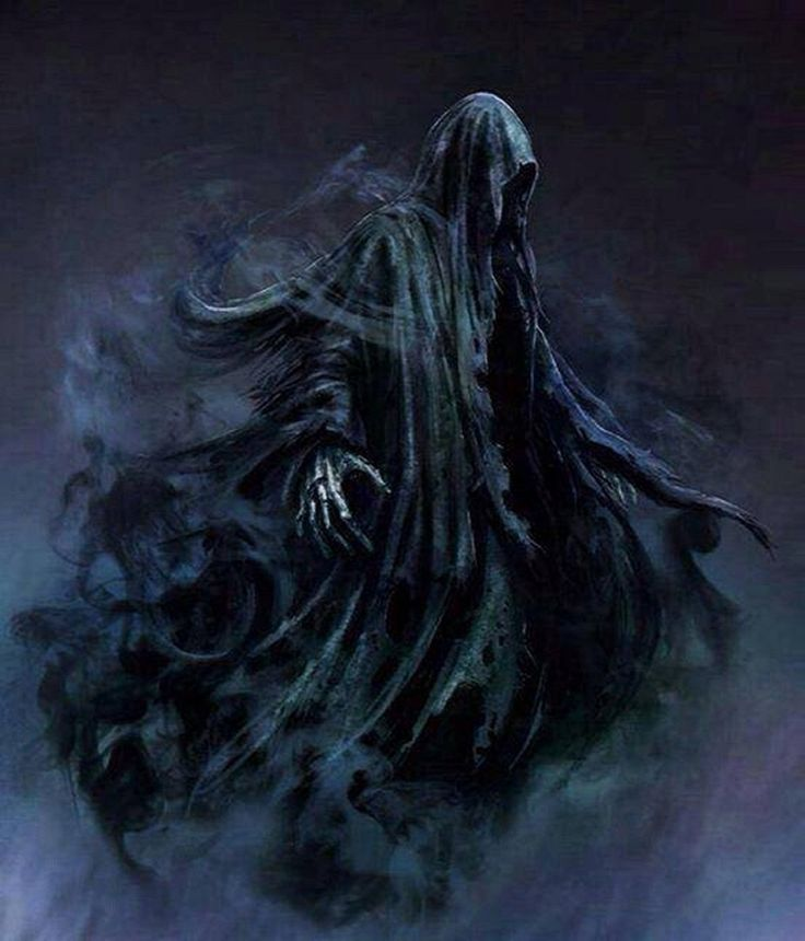 In the movie Prisoner Of Azkaban the dementors were puppets filmed underwater and the film was reversed for the cloak flowing effect. Description from julianadamshersey.wordpress.com. I searched for this on bing.com/images