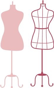 Silhouette Design Store - View Design #21382: dress form