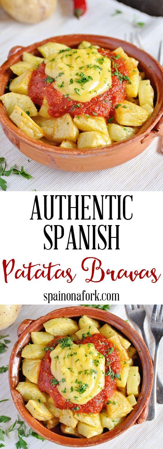 Authentic Spanish Patatas Bravas